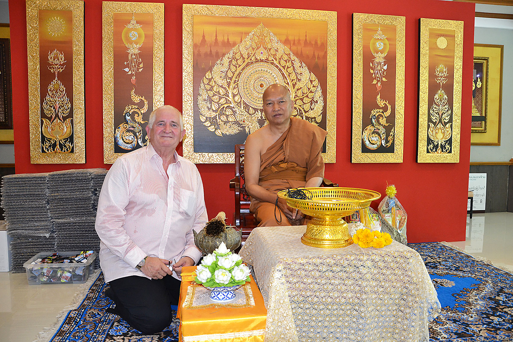 AIDS Tempel in Lopburi / Thailand