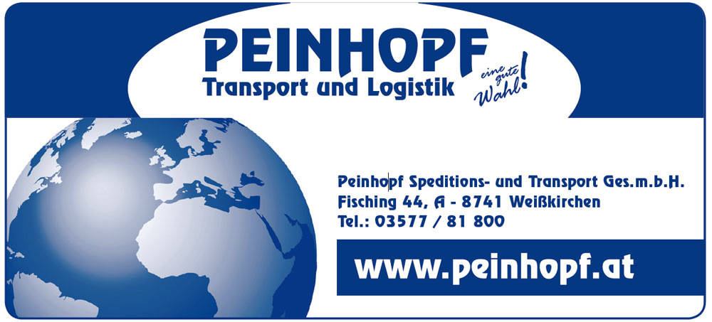 PEINHOPF GesmbH, Spedition-Transporte