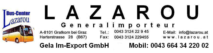 Logo Lazarou Bus