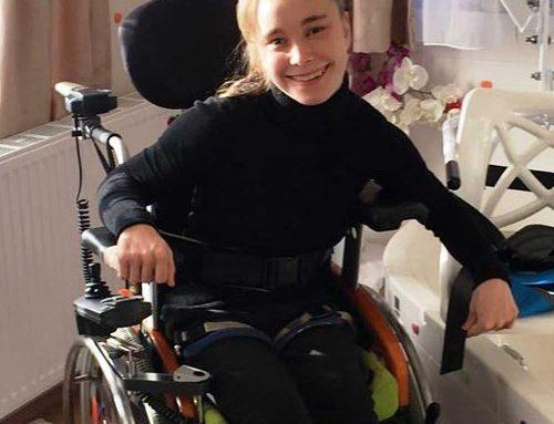Rebecca aus Groß St. Florian Stmk. Therapie- und Trainingsgerät von Giger MD aus der Schweiz