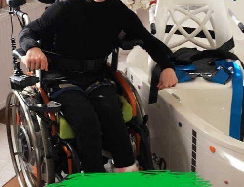 Rebecca aus Groß St. Florian Stmk. Behindertengerechte Umbauten, Badewannenlift und Schwenklift